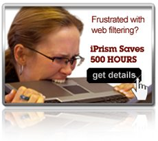 spend less time controlling web filtering